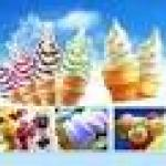 Composite ice cream powder